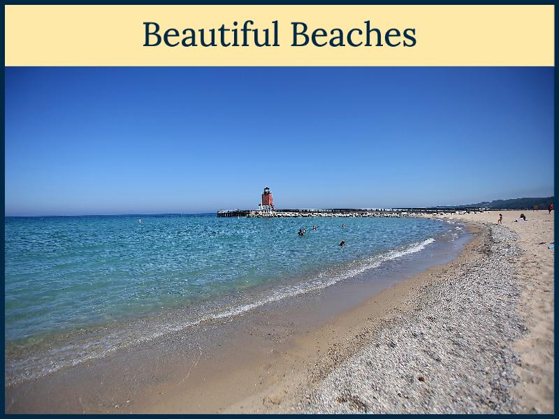 Beautiful Beaches - Charlevoix, Michigan