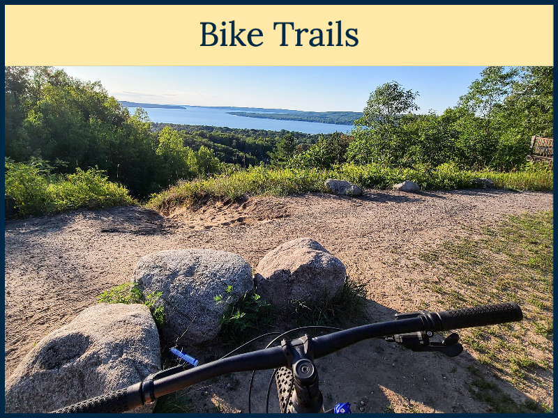 Bike Trails in the Petokskey Area - Pictured Avalanche in Boyne City