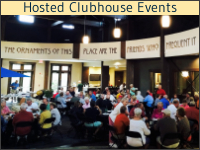 Hosted Clubhouse Events at Hearthside Grove Luxury Motorcoach Resort