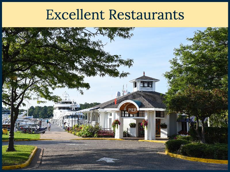 Restaraunts near Hearthside Grove Luxury Motorcoach Resort