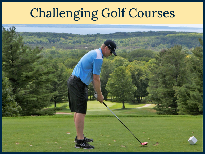 Playing Golf in Petoskey, Michigan