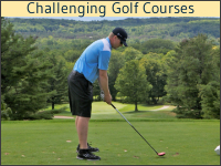 Playing Golf in Petoskey, Michigan