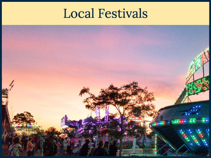 Local Festivals Near Hearthside Grove Luxury Motorcoach Resort